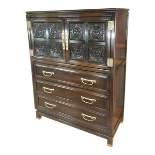 Regency Japanese-Style Tall Dresser
