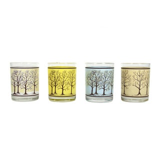 Lowball Drinking Glasses - Set of 4