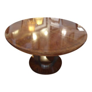 """Drexel Heritage Round Dining Table W/ 18""""Leaf"""