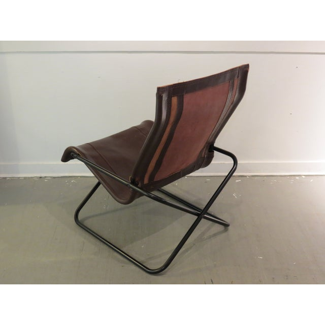 Vintage MCM Uchida Leather Sling Chair - Image 6 of 11