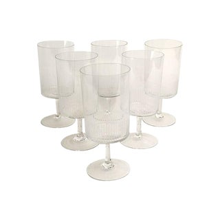 Mid-Century Etched Cordials - Set of 6
