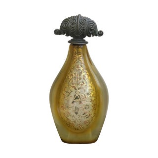 Muted Gold Bottle with Stopper