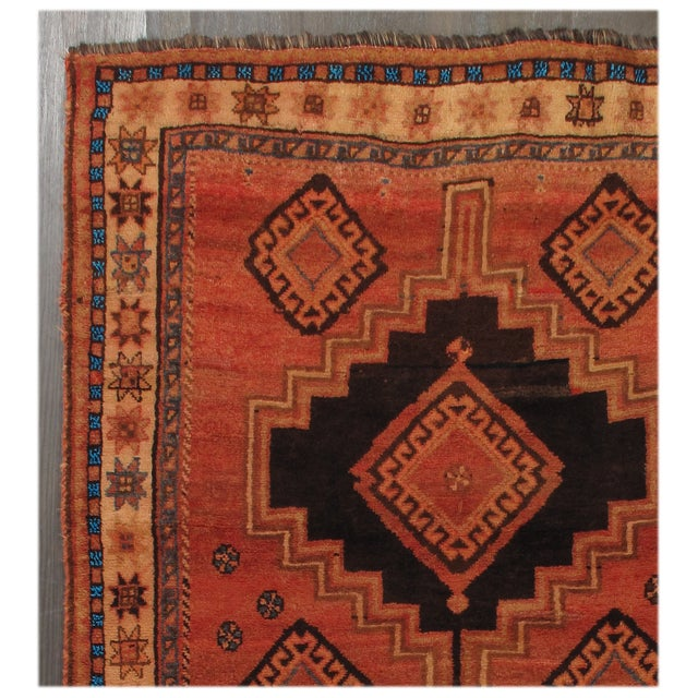"Image of Vintage Shiraz Rug- 3'9"" x 7'5"""