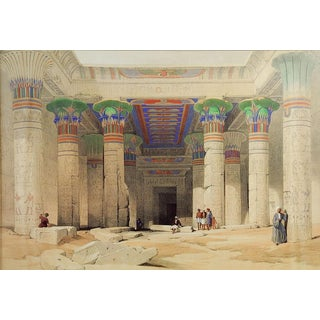 "David Roberts ""Grand Portico of the Temple of Philae"" Print"