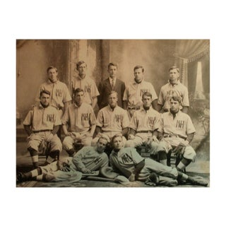 Reproduction Vintage Sports Photograph Baseball