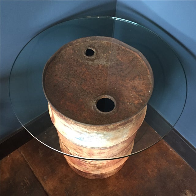 Image of Oil Drum Table