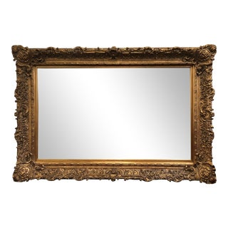 Large Scale Gilt Wall Mirror