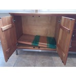 Image of Room & Board Cherry Wood Custom Credenza