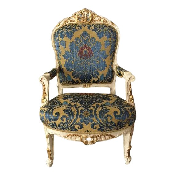 Antique French Louis XVI Style Chair - Image 1 of 5