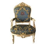 Image of Antique French Louis XVI Style Chair