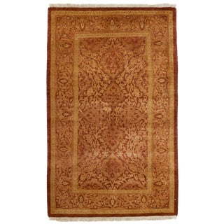 """New Traditional Hand Knotted Area Rug - 2'9"""" x 4'4"""""""