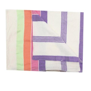 Moroccan Multicolored Sabra Pillowcase - A Pair