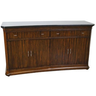 Thomasville French Art Deco Granite Top Sideboard