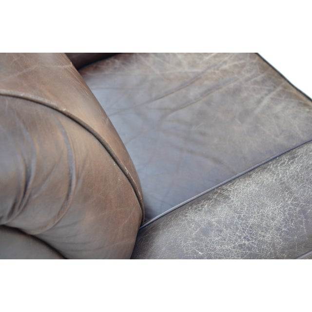 Image of Vintage Leather Club Chair
