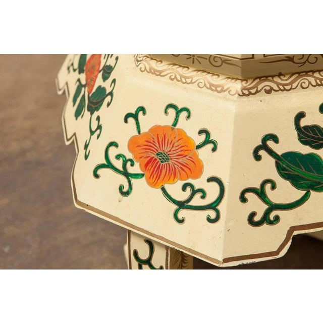 Chinese Lacquered Garden Stool - Image 5 of 10