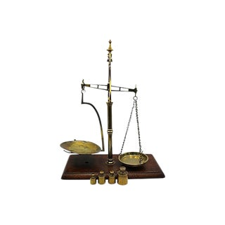 Antique English Market Scale