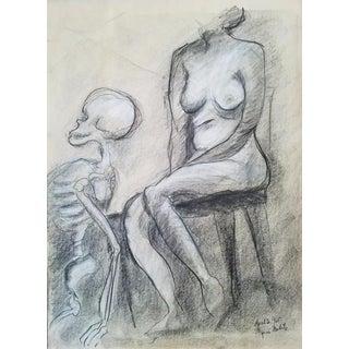 Myrna Nobile Vintage Nude Study