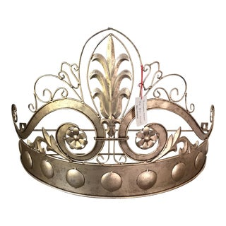 Antique Gold Horchow Bed Crown