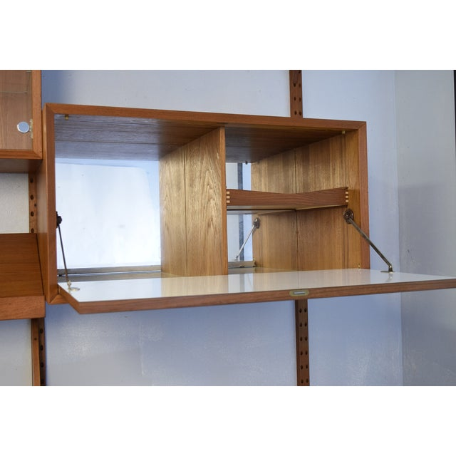 Mid-Century Modern Adjustable Wall Unit - Image 5 of 10