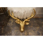Image of Golden Stag Head
