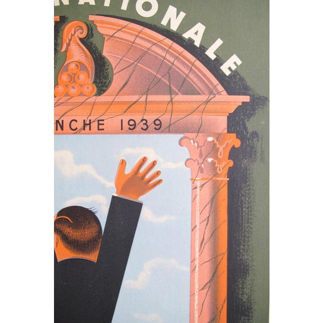 1939 French Loterie National Poster, Tranche Historique - Image 2 of 4