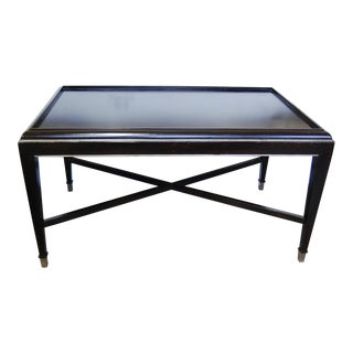 Lillian August Dark Wood Brooks Cocktail Table