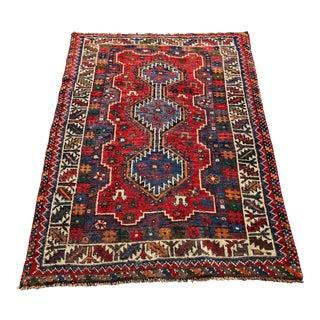 """Vintage Persian Weave Rug - 3'5""""x4'8"""""""