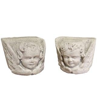 17th Century Italian Marble Capitals