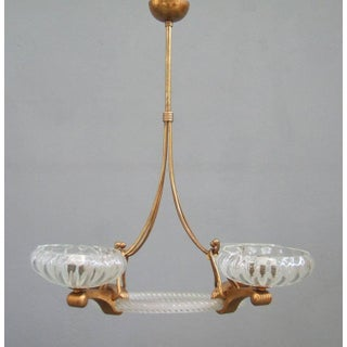 Barovier and Toso Murano Glass Chandelier
