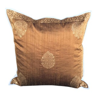 Luxury Raw Silk Pillow Cover