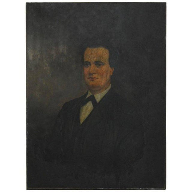 19th Century English Portrait of a Gentleman Oil on Canvas - Image 2 of 10