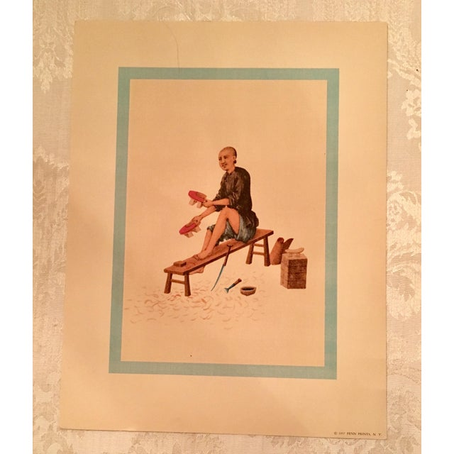 Image of 1957 Mid-Century Penn Prints - A Pair