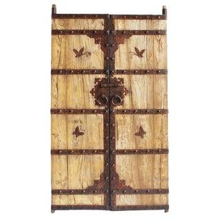 Vintage Wood & Iron Garden Gate