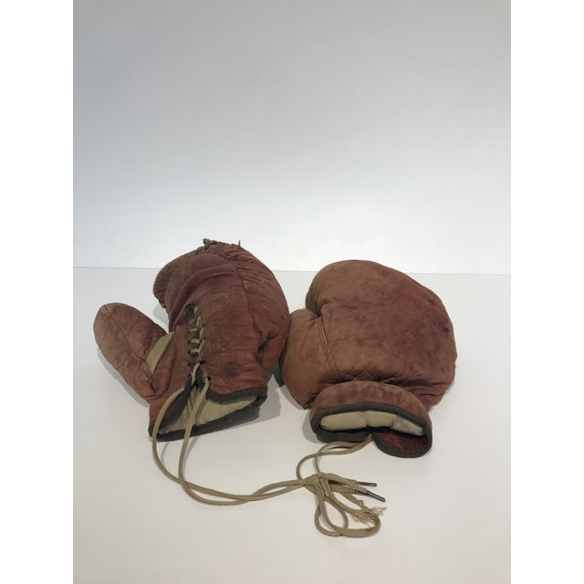 Image of Vintage Leather Boxing Gloves