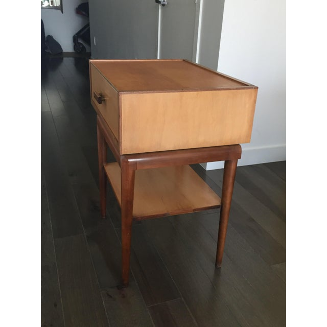 Vintage Mid-Century Nightstands - A Pair - Image 4 of 7
