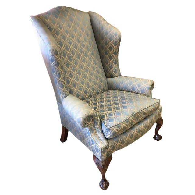 George Smith Wingback Chair - Image 1 of 8