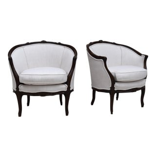 19th C. Bergere Chairs - A Pair