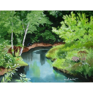 Contemporary Creek Giclee Print