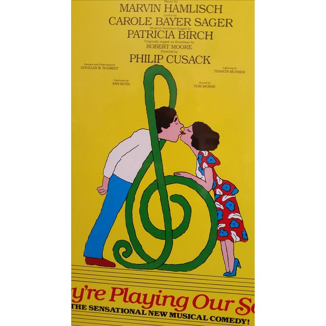 1970s Museum Mount Neil Simon Musical Poster - Image 3 of 5
