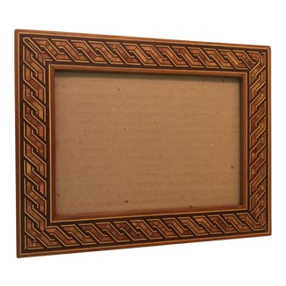Inlaid Wood Picture Frame