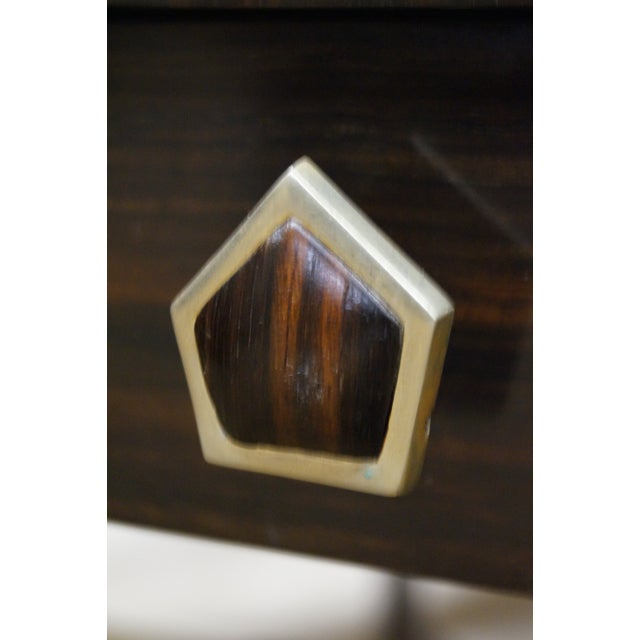 Jonathan Charles 1 Drawer Directoire End Table - Image 6 of 10