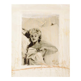 Marilyn Signed Original Abstract Painting