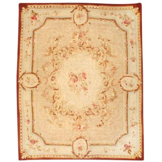 Antique 19th Century French Aubusson Carpet