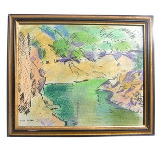 Loran California Gold Country Stream Painting