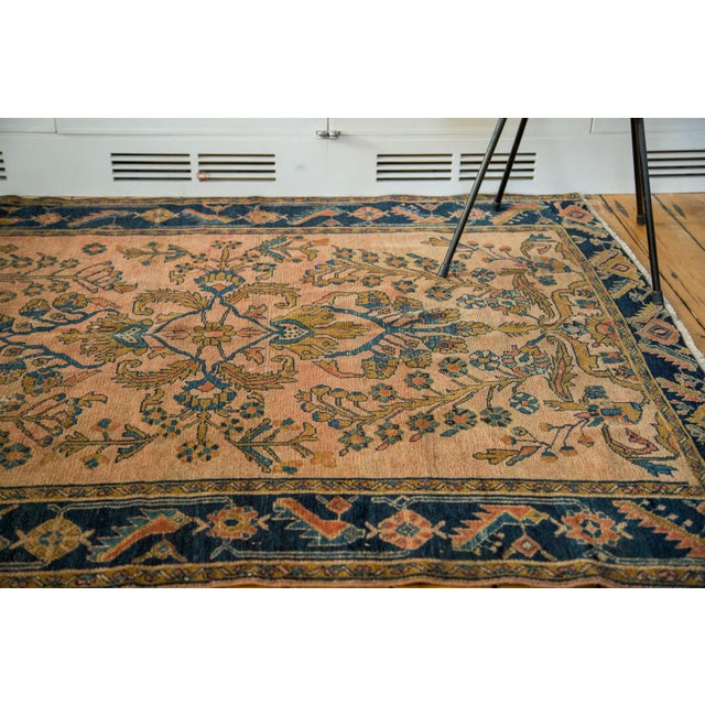"Antique Lilihan Square Rug - 5' X 5'9"" - Image 2 of 9"