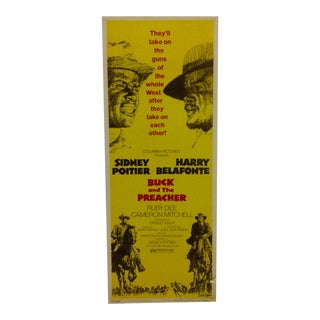 """Buck and the Preacher"" Vintage Movie Poster"