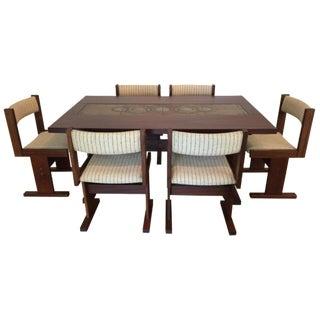 Danish Rosewood Dining Set