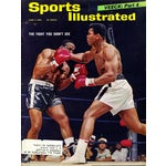 Image of Vintage Muhammad Ali Sports Illustrated, 1965