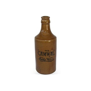Antique English Camwal Water Bottle