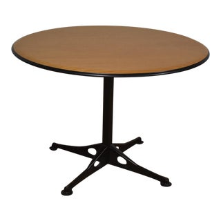 Round Herman Miller Dining Table